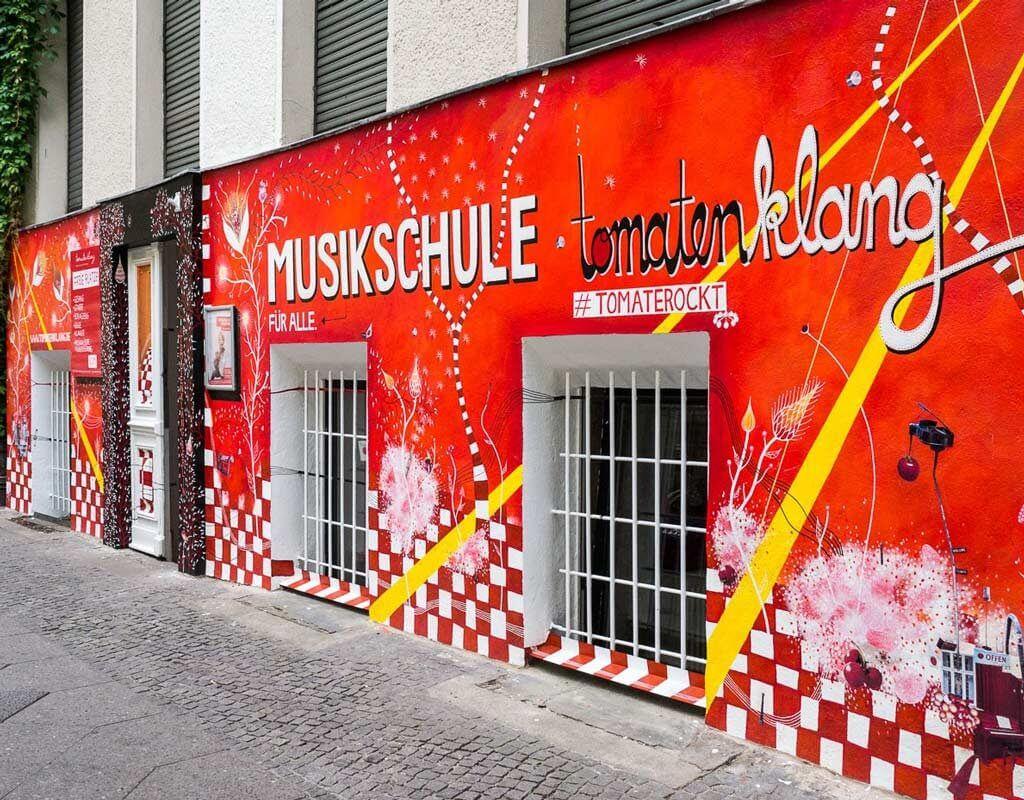 Maria Gideon - Tomatenklang - Musikschule
