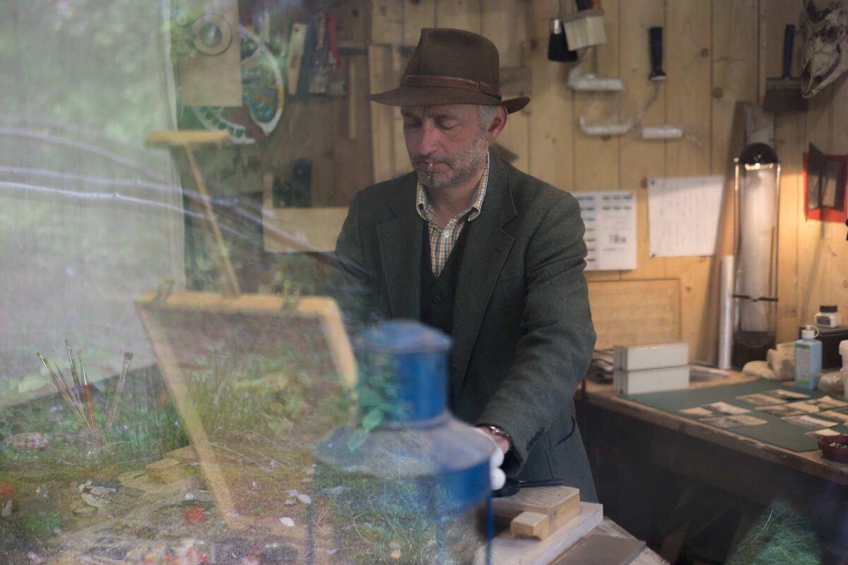 Jakobus Durstewitz - Künstler im Atelier
