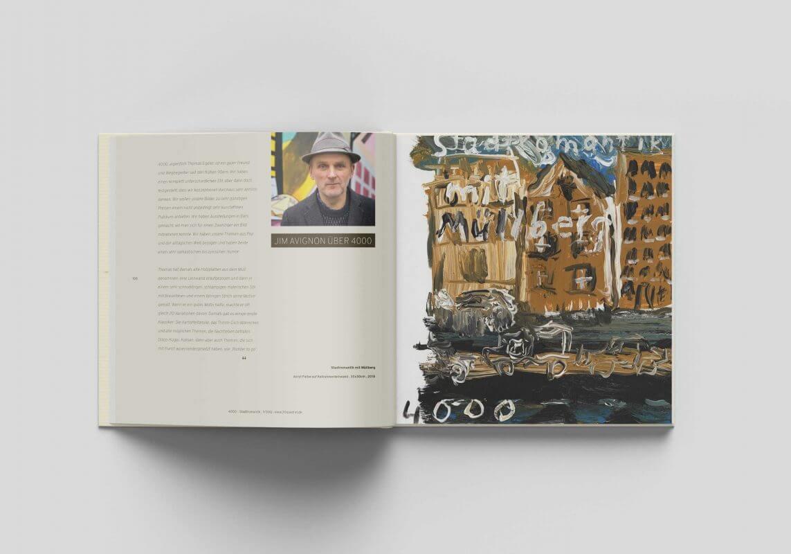 1 Jahr 30 Quadrat Buch Jim Avignon und 4000