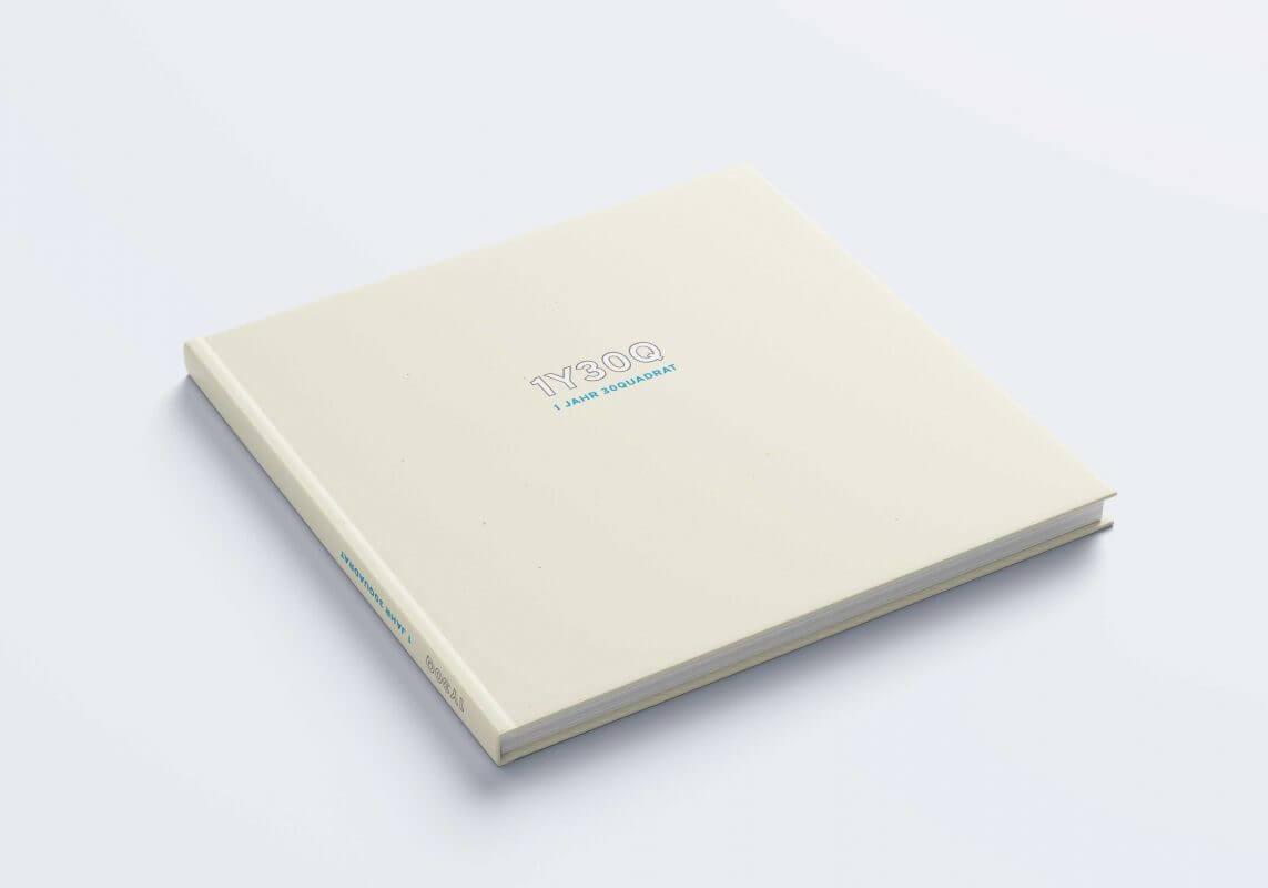 1 Jahr 30 Quadrat Buch