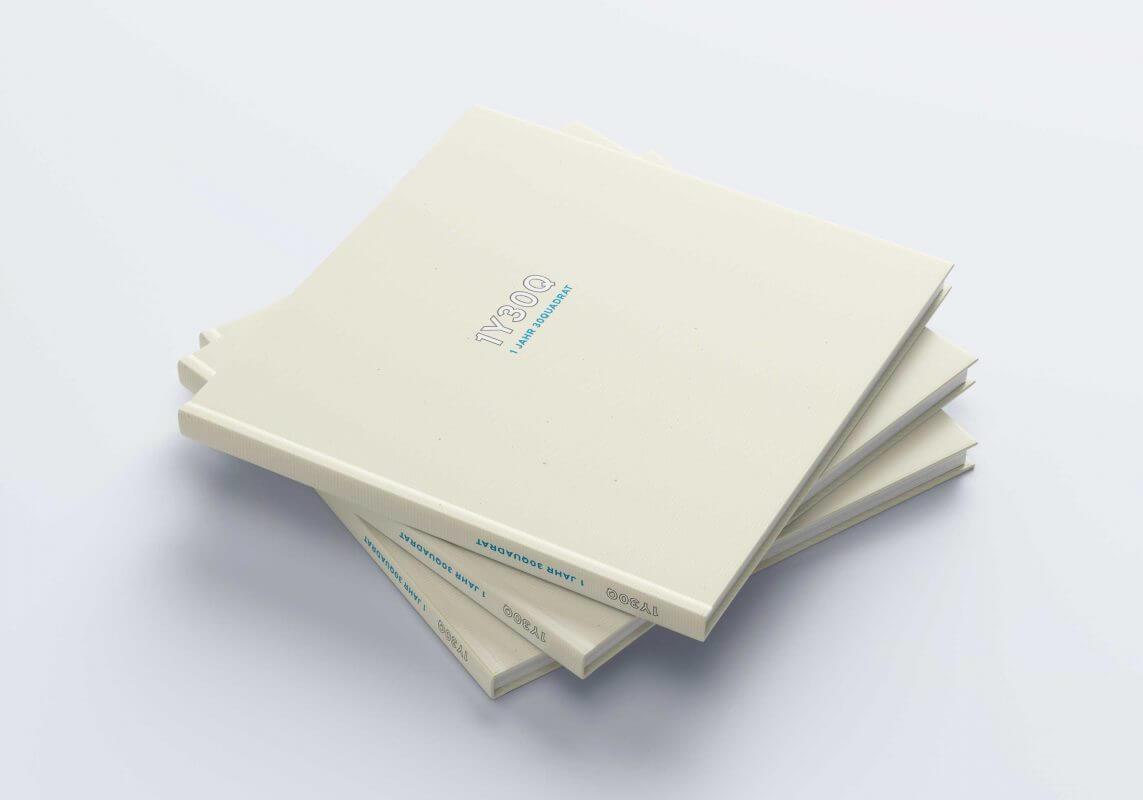 Kunst und Texte - Jubiläumsband 30 Quadrat - Buch