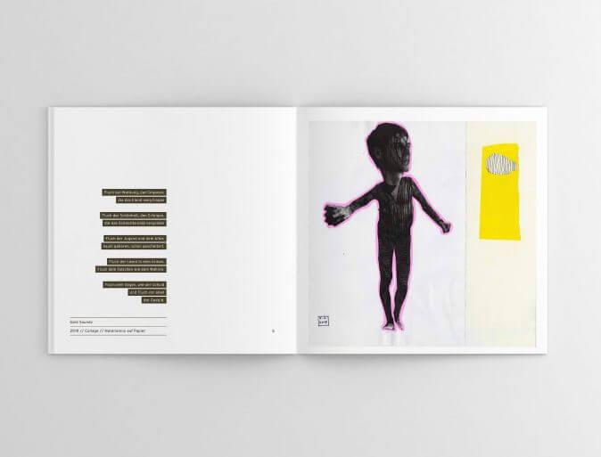 Fynn Steiner - Faces and Names - Gedichtband/Katalog