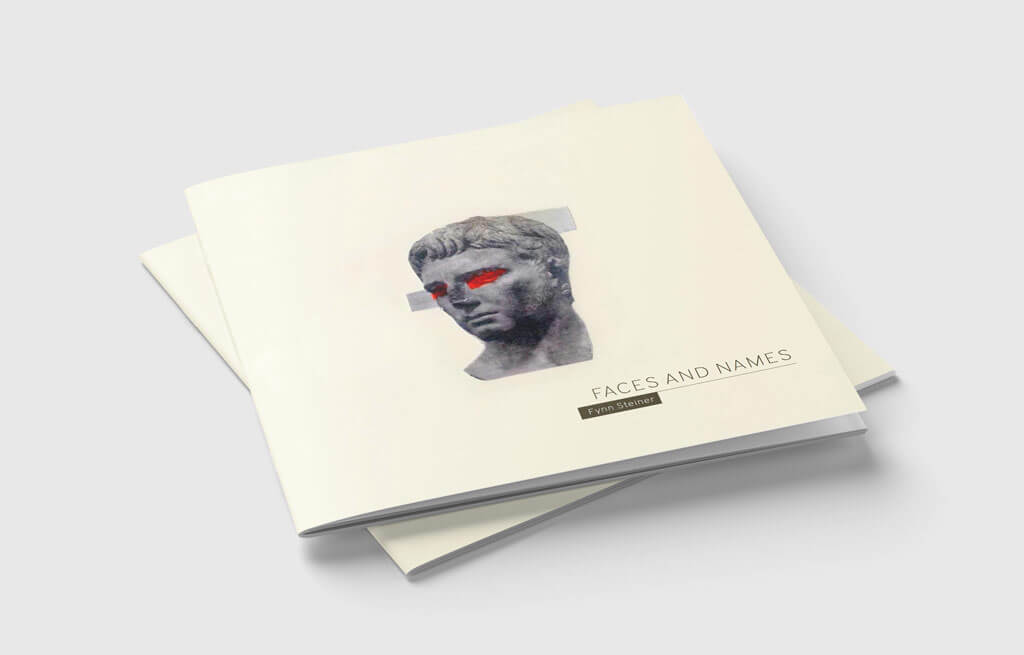 Fynn Steiner - Faces and Names - Gedichtband/Katalog