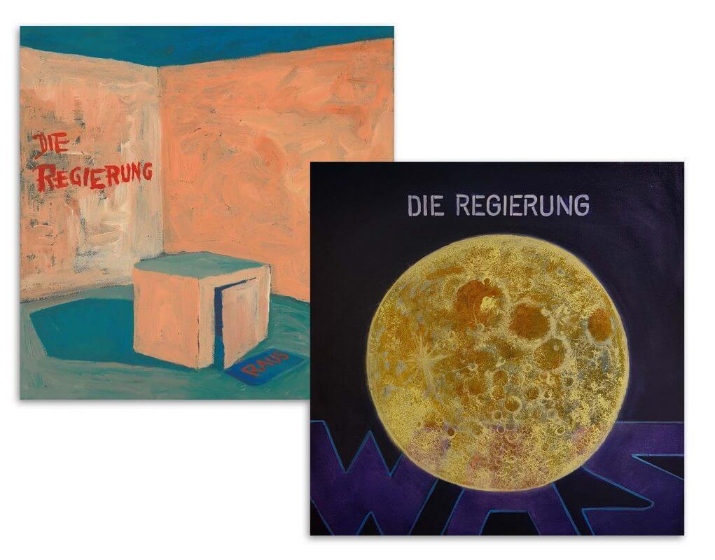LP-Cover für Die Regierung von Jakobus Durstewitz