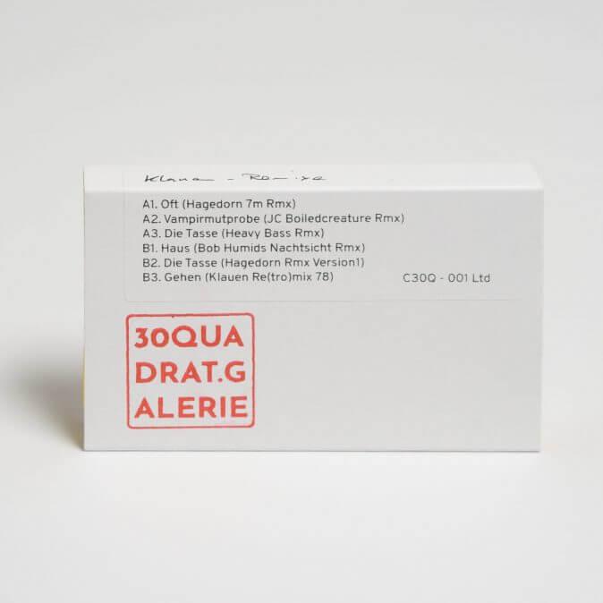 Klauen - 30Quadrat-Remix-Kassette
