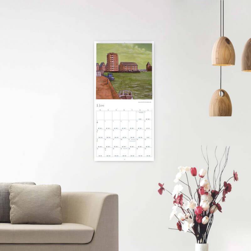 Jakobus Durstewitz - Gezeitenkalender 2019