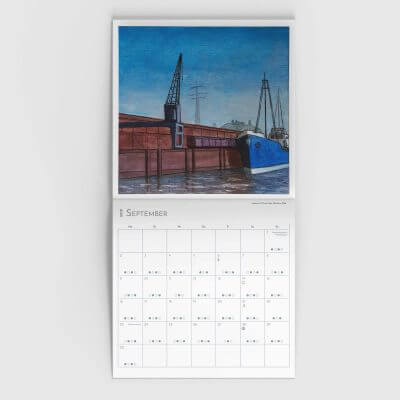 Jakobus Durstewitz - Gezeitenkalender - September 2019 - Löschen II