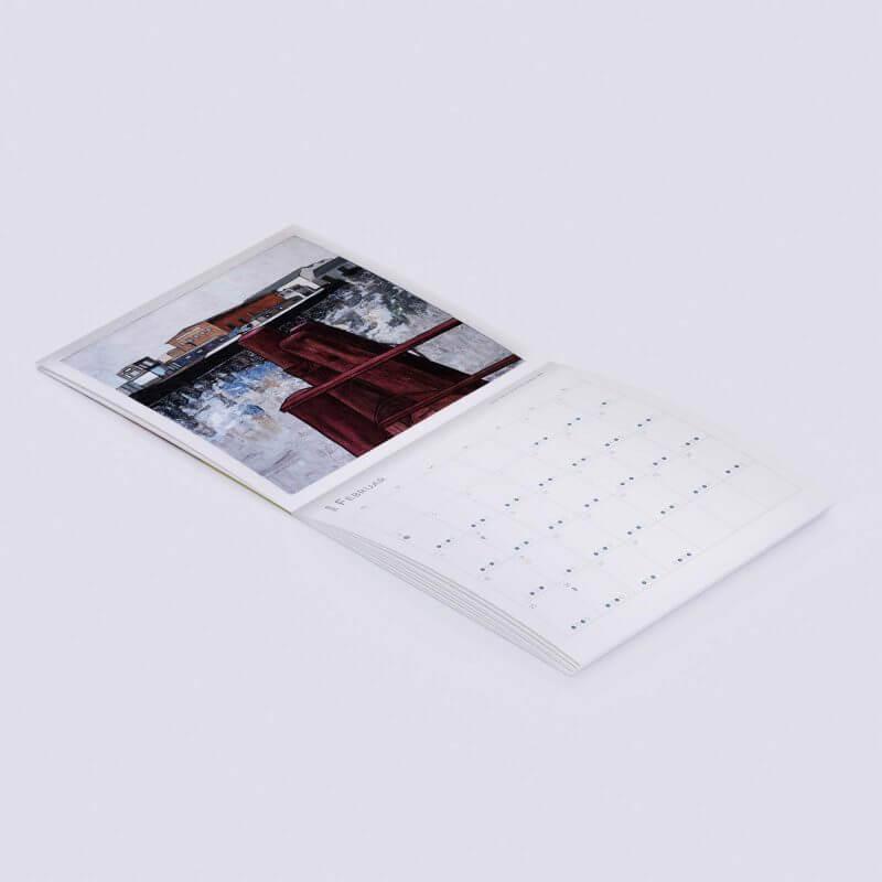 Jakobus Durstewitz - Gezeitenkalender - Februar 2019 / Schulte & Bruns