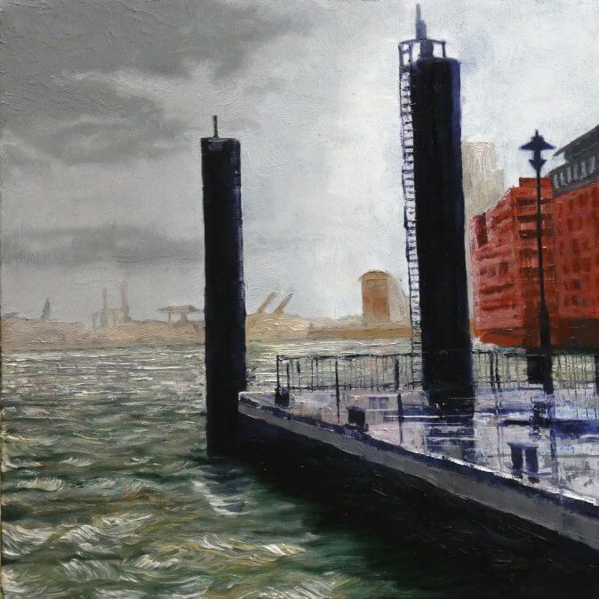 Jakobus Durstewitz - Hamburg - Hadag Ponton Fischmarkt Altona