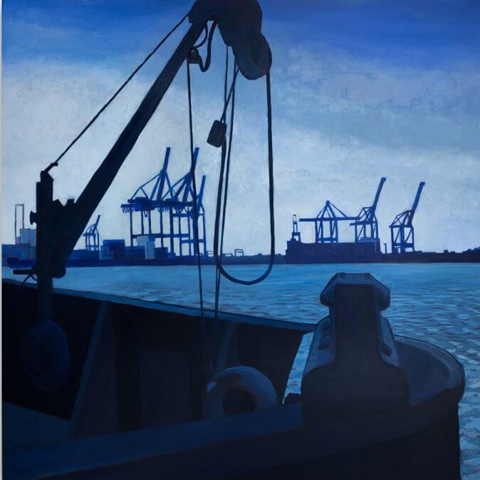 Jakobus Durstewitz - Hamburg - Blauer Hafen