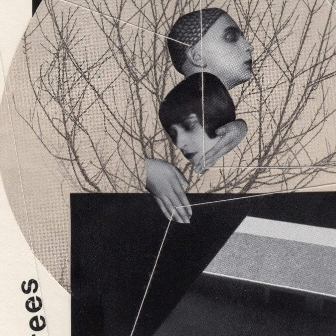Fehmi Baumbach - Collages - How it feels to kiss trees