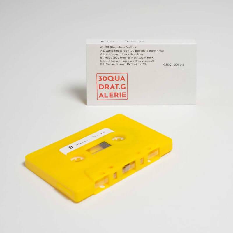 Klauen - 30 Quadrat - Remix-Kassette