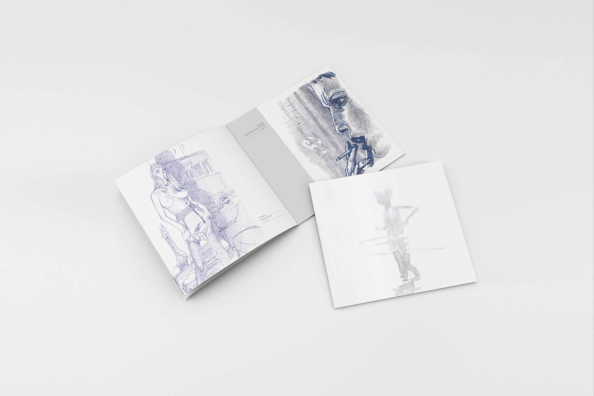 Max Müller - Aquarelle und Zeichnungen - Katalog