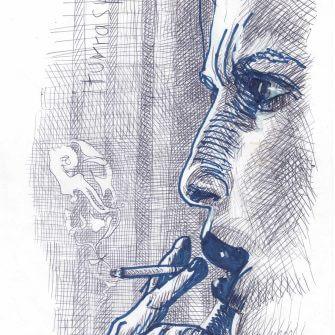 Max Müller - Zeichnungen - Iturraspe