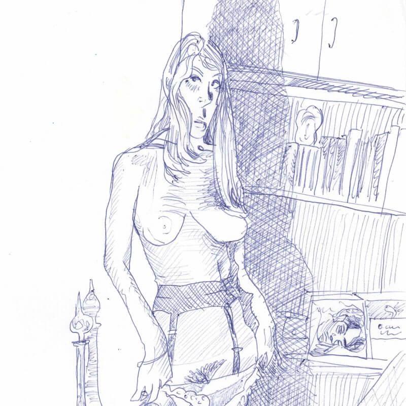 Max Müller - Zeichnungen - Undress