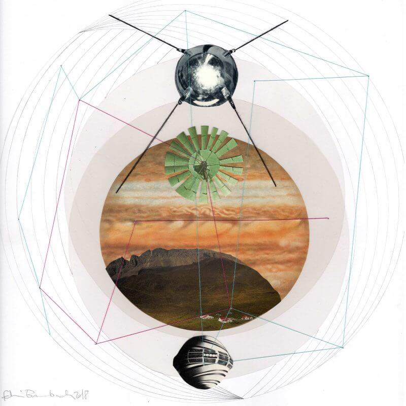 Fehmi Baumbach - Collages - Sputnik