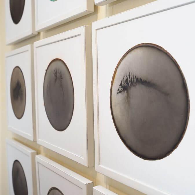 Volker Stamer - Dryingspots mit Rahmen