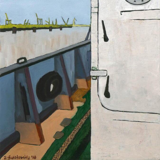 Jakobus Durstewitz - MS Stubnitz - Stubnitz I - Backbord Luke