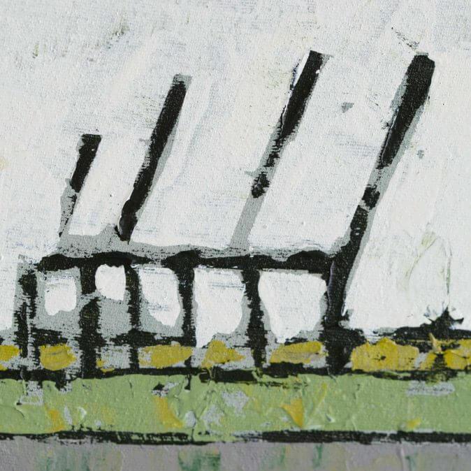 Jakobus Durstewitz - Untätige Kräne - III