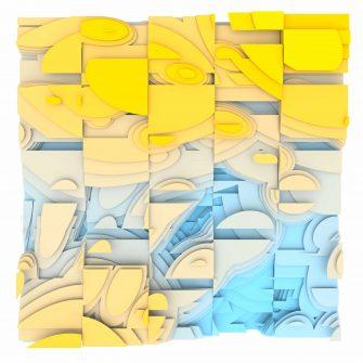 Jan Casagrande - Volumetric Noise - Voronoi Cubism 0819