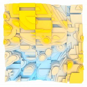 Jan Casagrande - Volumetric Noise - Voronoi Cubism 0820
