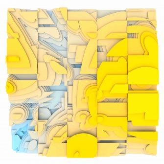 Jan Casagrande - Volumetric Noise - Voronoi Cubism 0821