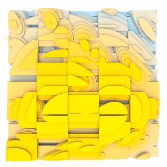 Jan Casagrande - Volumetric Noise - Voronoi Cubism 0822