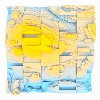 Jan Casagrande - Volumetric Noise - Voronoi Cubism 0826
