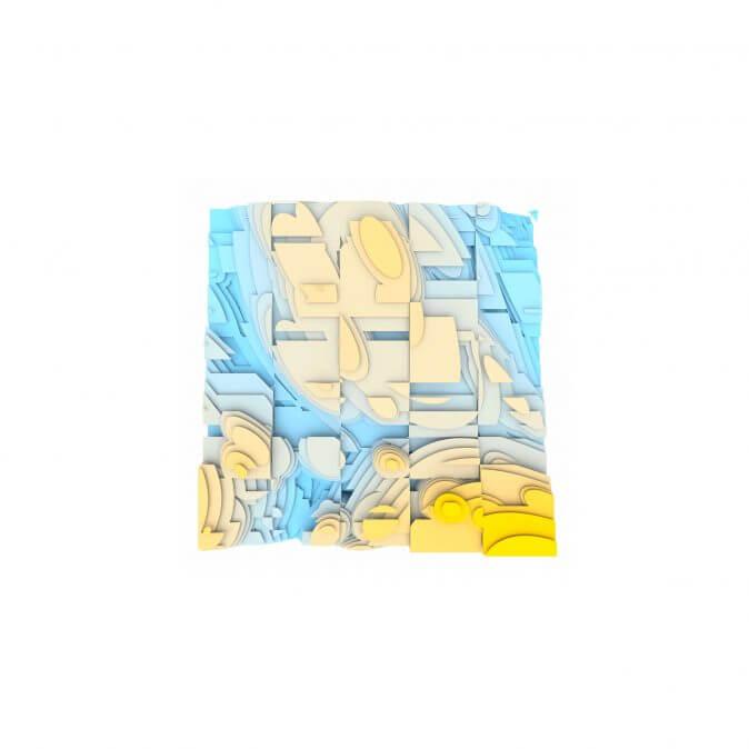 Jan Casagrande - Volumetric Noise - Voronoi Cubism 0824