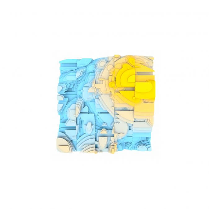 Jan Casagrande - Volumetric Noise - Voronoi Cubism 0825