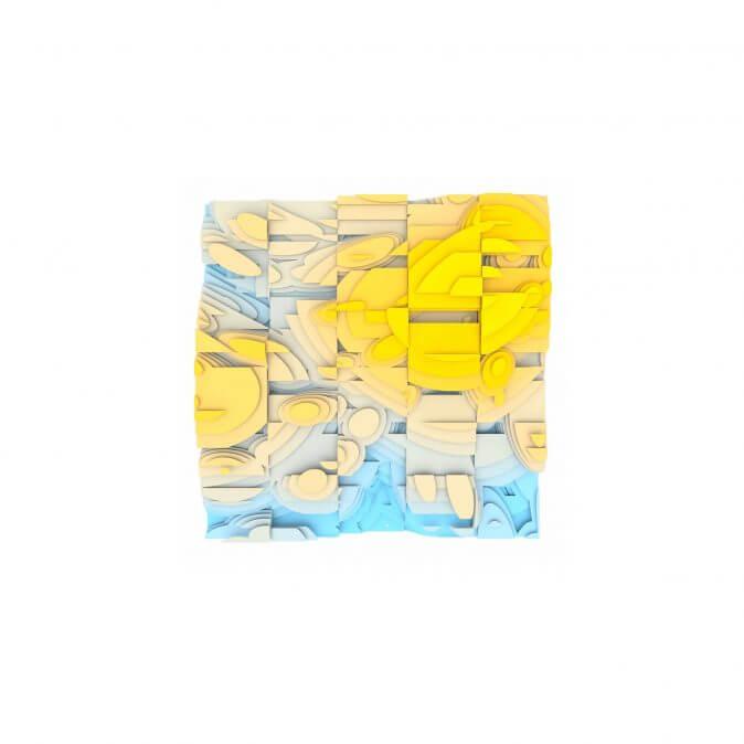 Jan Casagrande - Volumetric Noise - Voronoi Cubism 0827