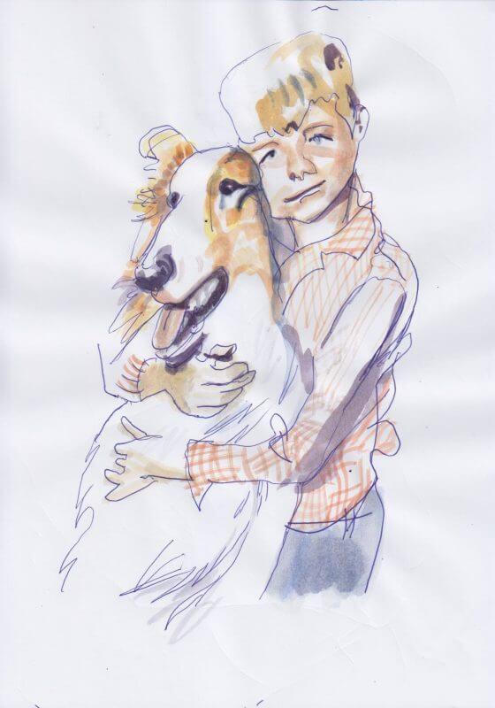 Max Müller, Lassie (Original)