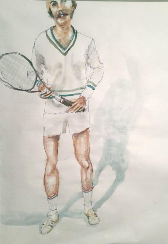 Max Müller, Tennisspieler (Original)