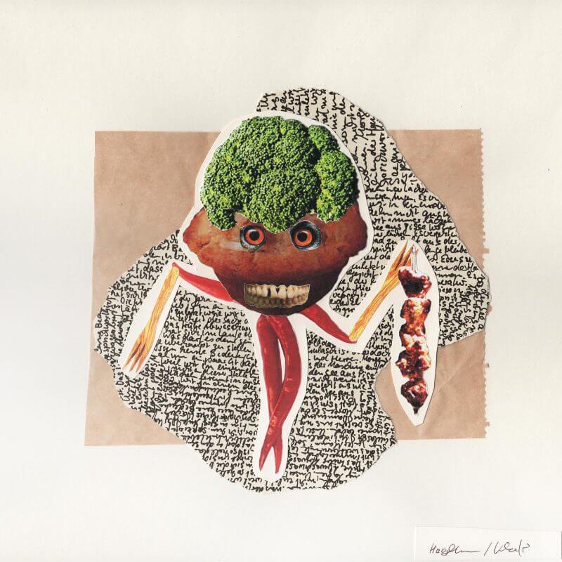 Hagedorn / Khanfir - Broccolichilimuffin mit Schaschlik