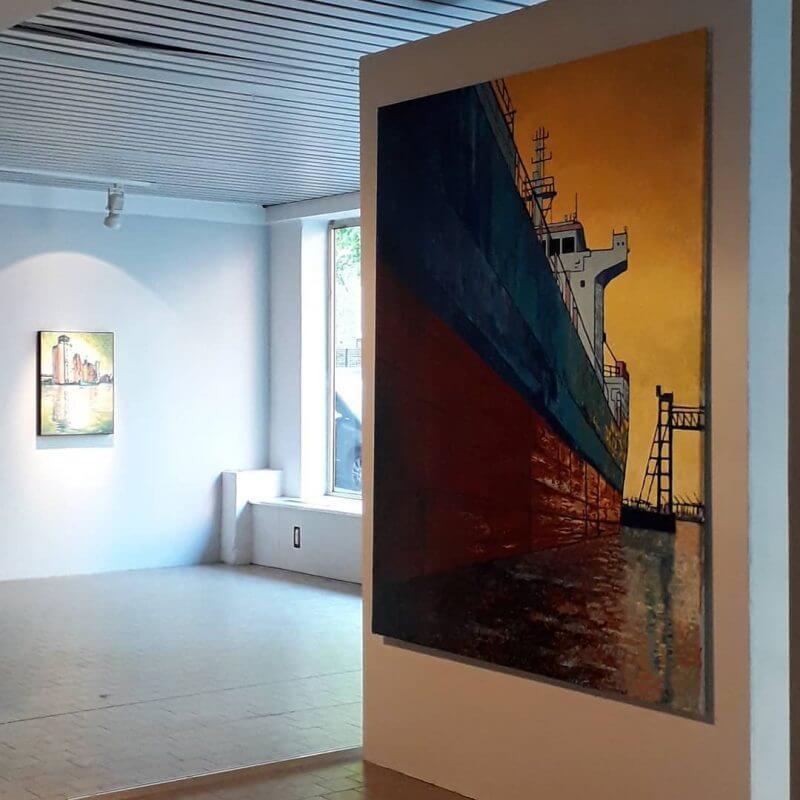 """Jakobus Durstewitz - Ausstellung """"Losmachen"""" in der Affenfaust Galerie in Zusammenarbeit mit Dockville"""
