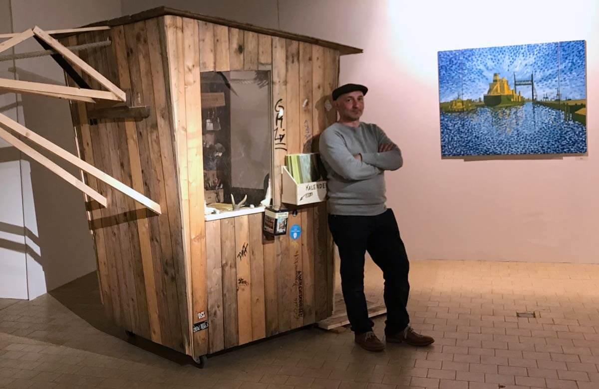 Jakobus Durstewitz - Losmachen - Atelierkran