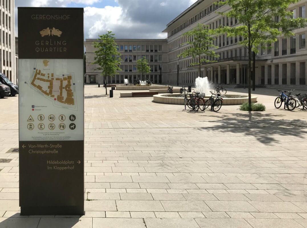 Gerling Quartier - Öffentlicher Platz