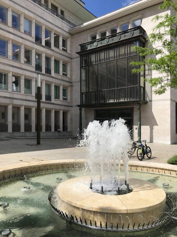 Gerling Quartier - Brunnen