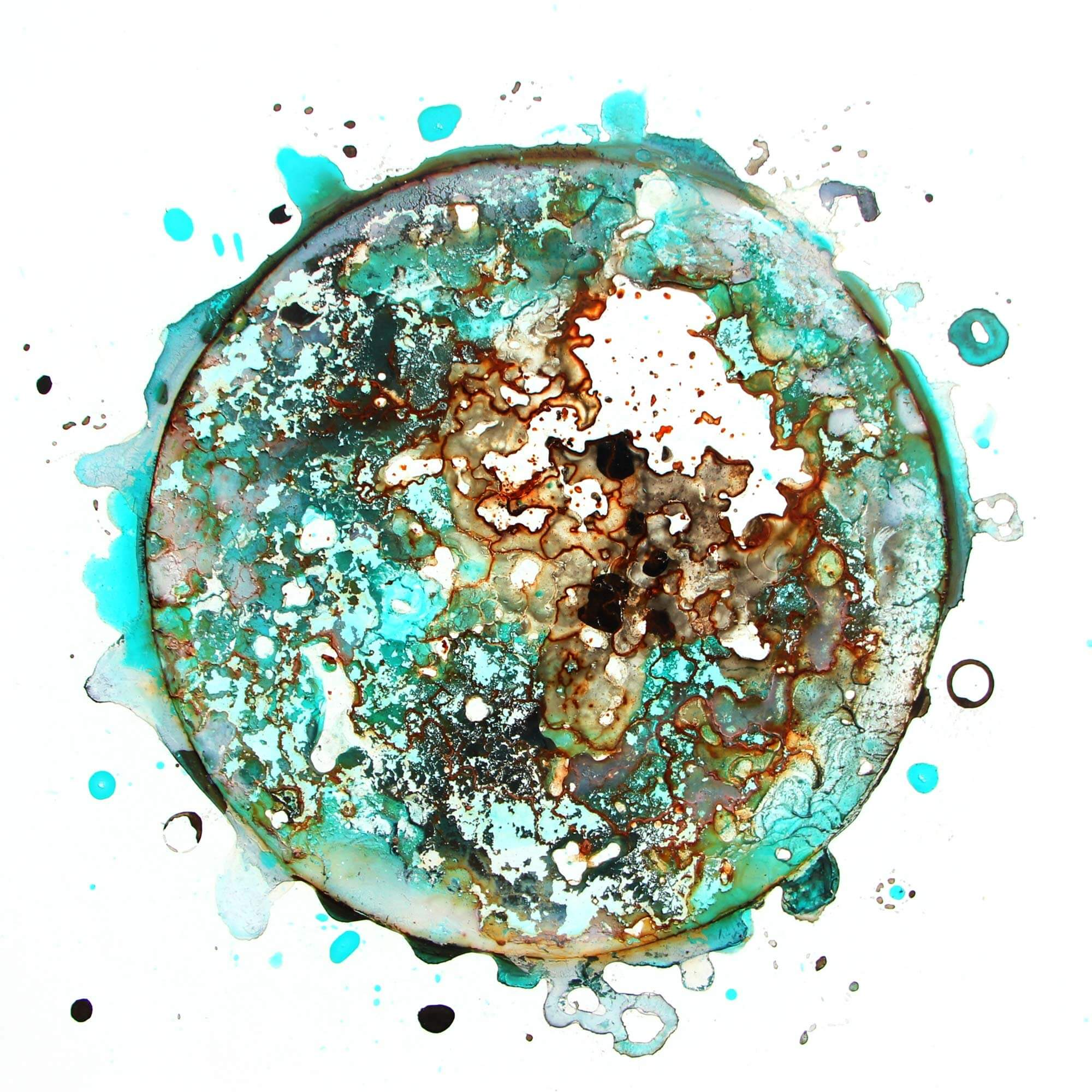 Volker Stamer - Dryingspots 2019 - Water Spirit No. 6