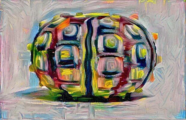 Stil Transfer - Durstewitzer - 30Q - Seeigel - High Quality Neural Style Transfer