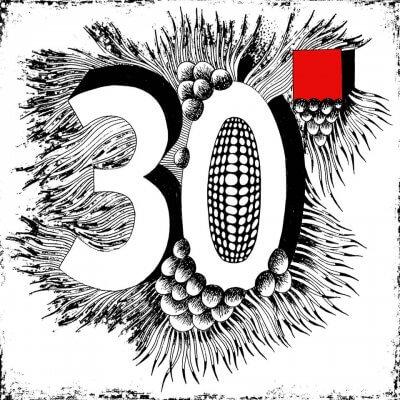 30 QUADRAT - Logozeichnung - Maria Gideon