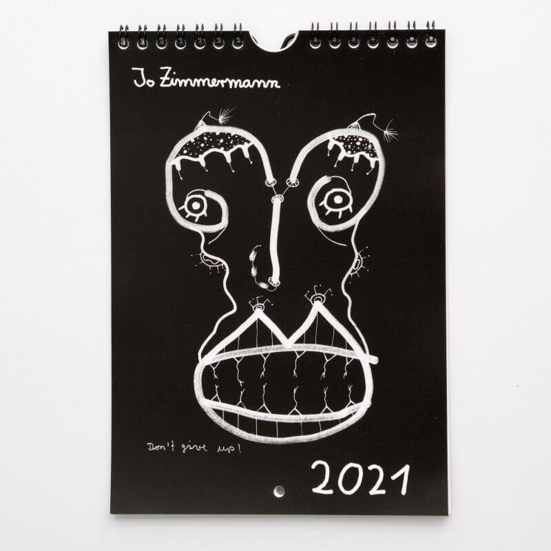 Jo Zimmermann - Wandkalender 2021 Titel